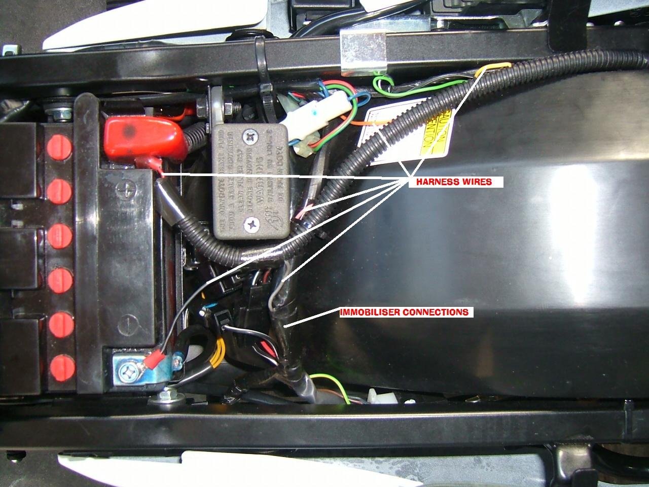 Motorcycle Alarm Kit Wiring An System From